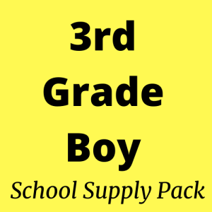 3rd grade school supply pack