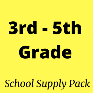 3rd,4th,5th grade school supply packs for sale