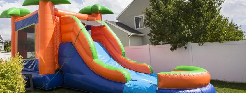 Best Inflatable Sports Bounce House with Slide