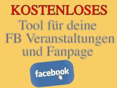 Facebook Marketing Tool für deine Fanpage und Veranstaltungen