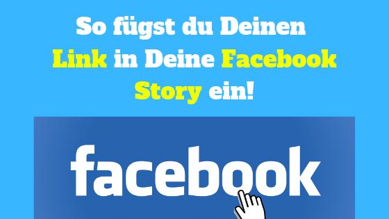 Link in Facebook Story