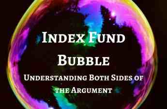 index fund bubble best interest