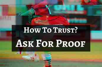 ask for proof