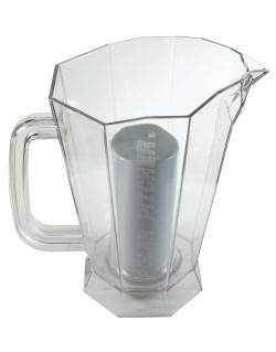 Bar Maid CR-5830CLR-4 Polar Pitcher