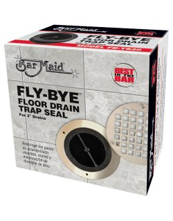 Bar Maid FLY-BYE Floor Drain Trap Seal