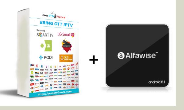 Box Alfawise A8 + Abonnement BRING OTT IPTV