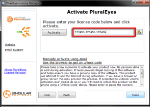 PluralEyes Serial Key