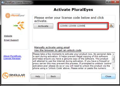 PluralEyes Serial Key