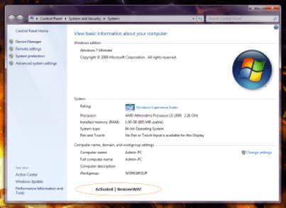Removewat Windows 7