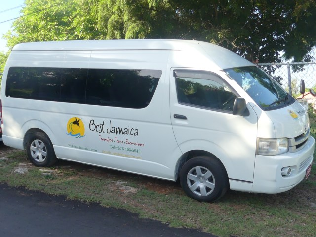 Montego Bay Airport Private van Service