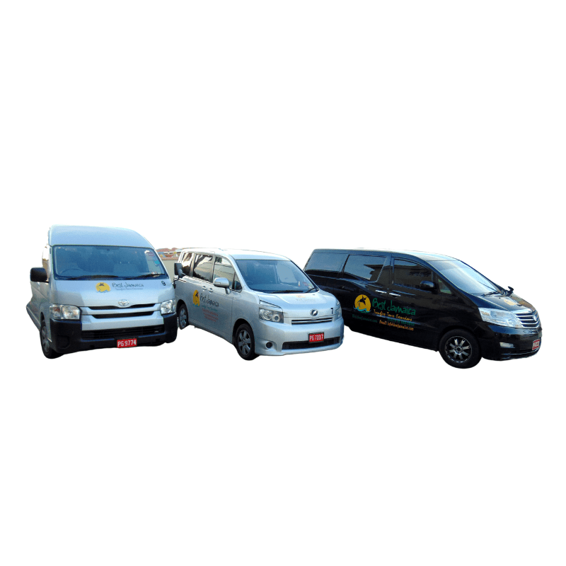 Gill Drive Vehicles – White Background