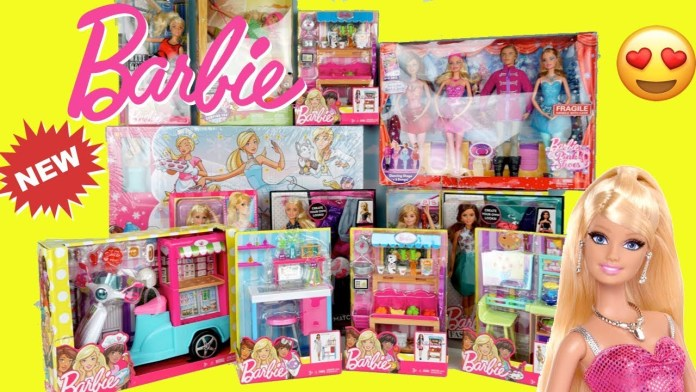 Huge Barbie Toys Holiday Unboxing – Doll Grocery Store, Ballerina Set, Barbie Doll Dress up Toy