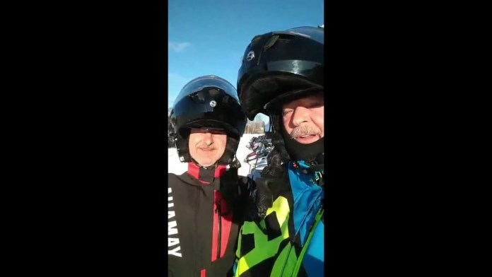 Toys & Movies UP Snowmobile Journey 2020 11 (Christmas to Brimley)