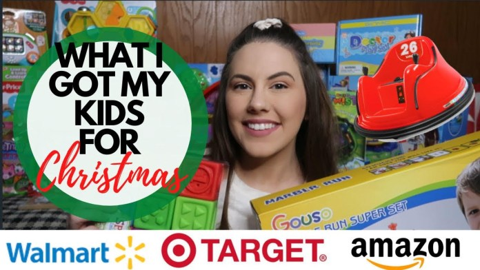 WHAT I GOT MY KIDS FOR CHRISTMAS   HUGE TOY GIVEAWAY
