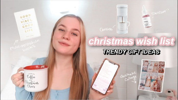 My Christmas Want Record 2020 // Aesthetic Reward Information 2020 + What To Ask For For Christmas 2020