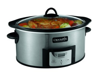 Crock-Pot SCCPVI600-S Countdown Slow Cooker with Stove-Top Browning