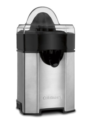 Best small juicers, Cuisinart CCJ-500 Pulp Control Citrus Juicer, Brushed Stainless