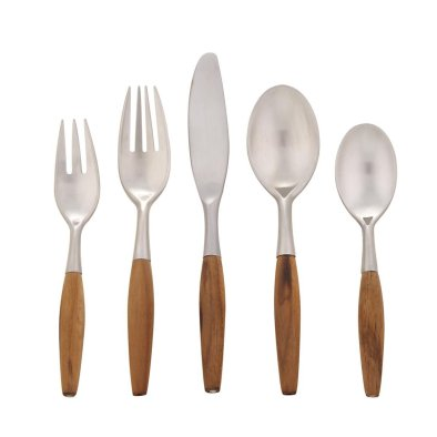 best wood handle flatware