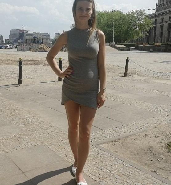 Elegant Gray Sleeveless Knitted Casual Dress