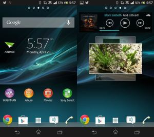 Sony Home Launcher Apk