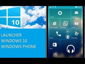 Windows 10 Launcher Pro