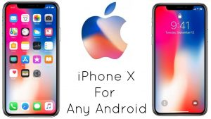 iphone x launcher