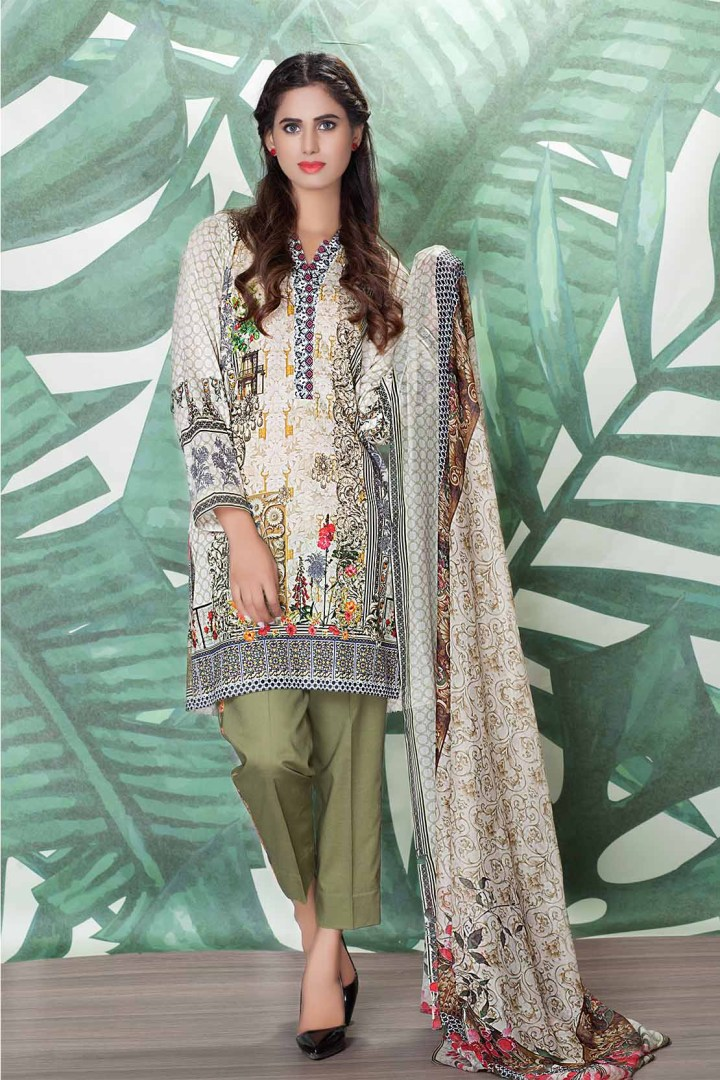 Latest So Kamal Premium Lawn 2018 Collection