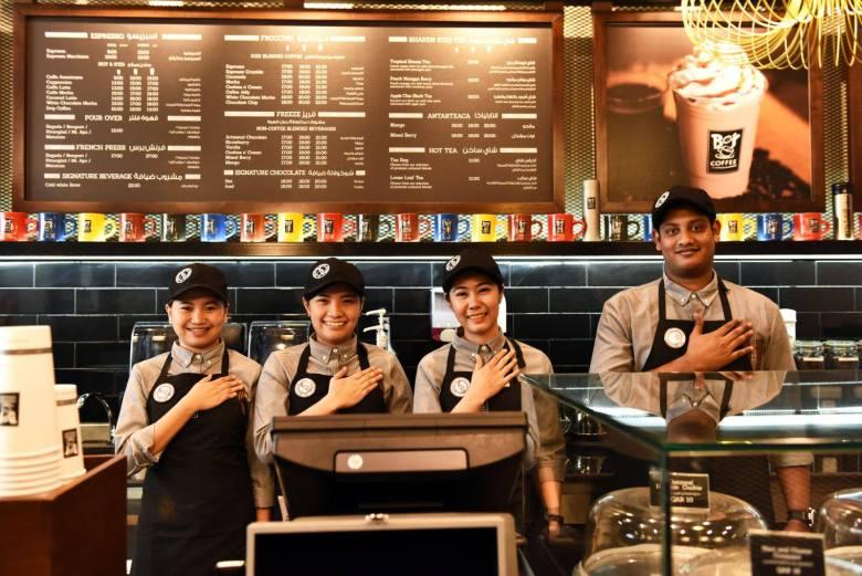 Bos Coffee Qatar