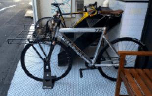 Pizza Slice bike