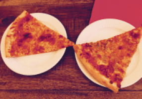 Pizza Slice cheese & sausage