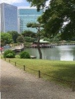 Hamarikyu Garden and Park