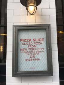 Pizza Slice, Shibuya - Pipping Hot NYC Pizza!