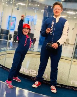 FlySation Japan (Saitama) - Indoor Skydiving for Kids ages 4+ and adults