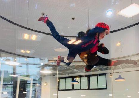 FlyStation Japan, Tokyo Japan indoor skydiving