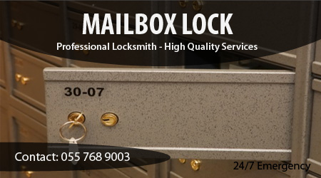 Locksmith for Mailbox Lock installation, repair, replacement & Change in Dubai