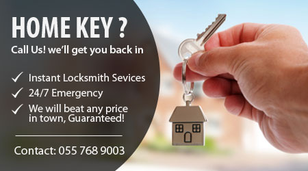 Residential Locksmith Dubai