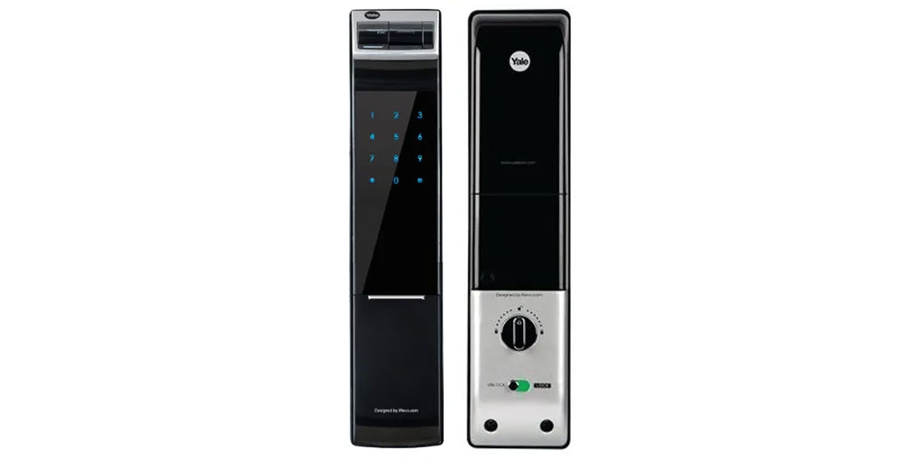 YDM 4109RL - Intelligent Biometric Fingerprint Digital Door Lock (Roller Latch & without Lever Handle)