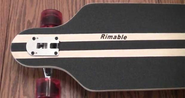 Rimable Drop through Longboard 41 inch Review