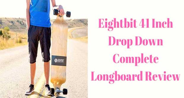 EIGHTBIT 41 Inch Drop Down Complete Longboard Review