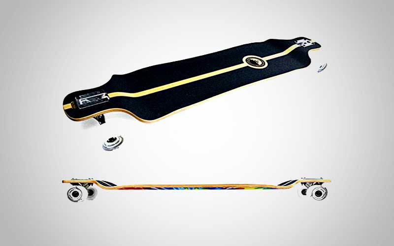 Punked Lowrider Drop Down Longboard Review