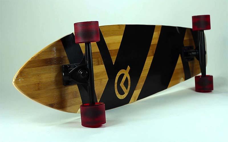 Quest Super Cruiser Artisan Bamboo Longboard Skateboard Review