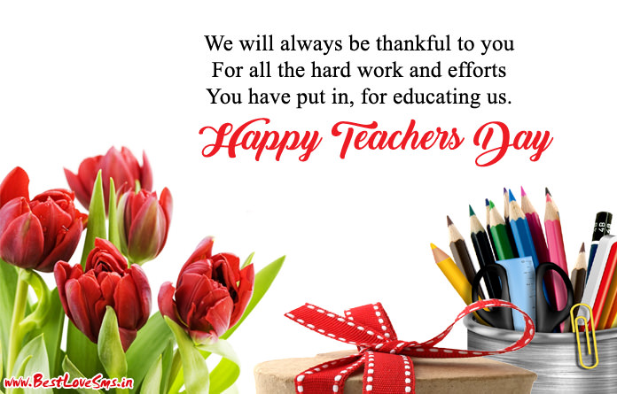 awesome happy teachers day messages with images in full hd