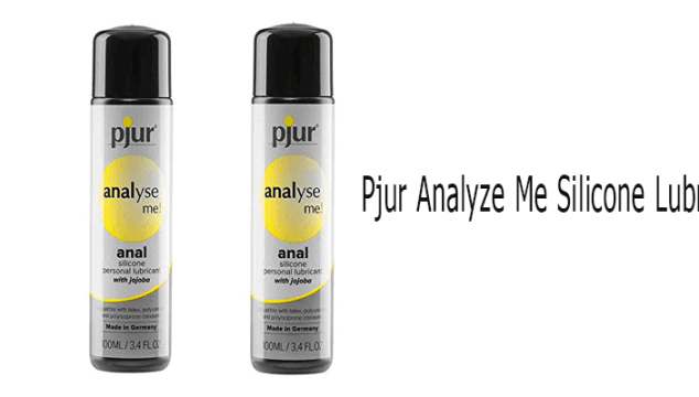 Pjur analyze me silicone lubricant review