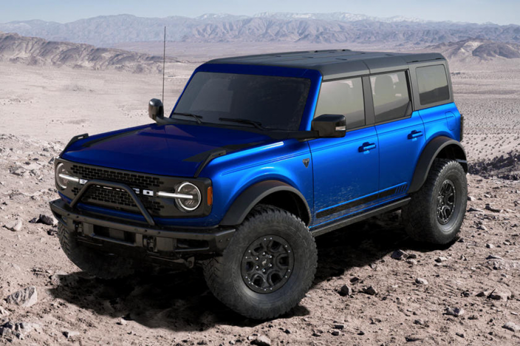 2022 Ford Bronco Concept