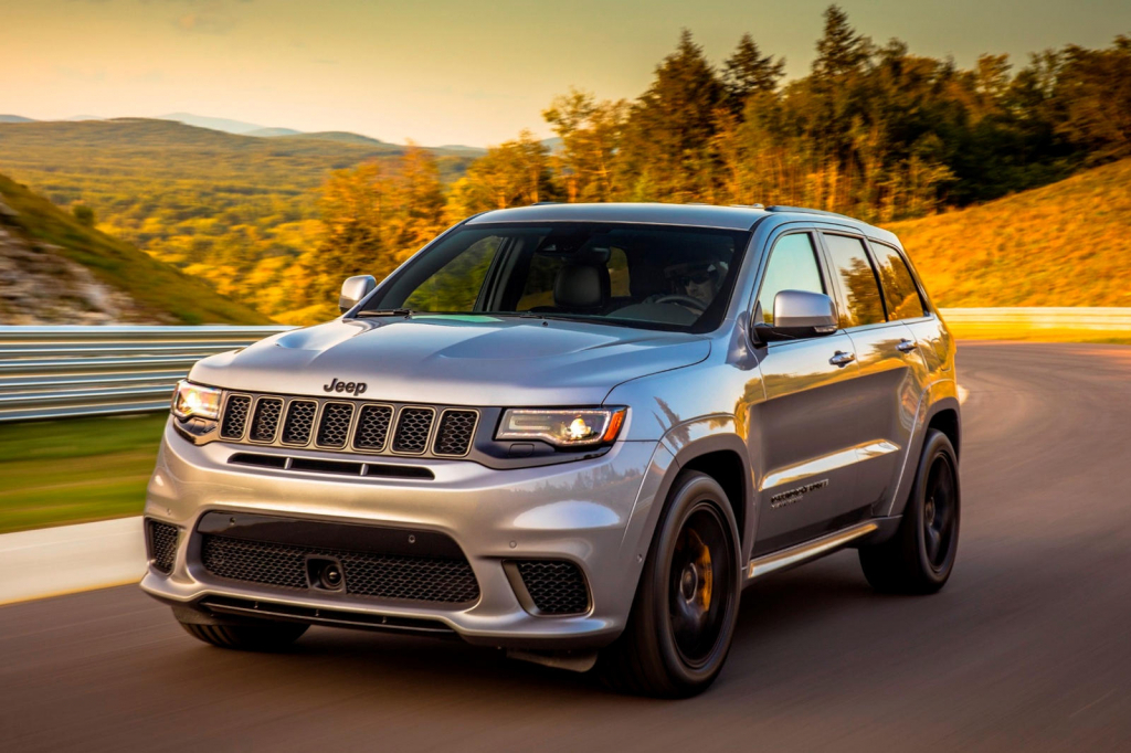 2022 Jeep Grand Cherokee Trackhawk Concept