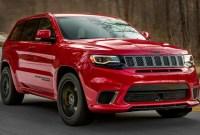 2022 Jeep Grand Cherokee Trackhawk Spy Shots