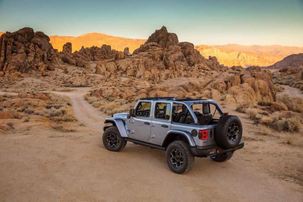 2022 Jeep Wrangler PHEV Concept