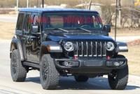 2022 Jeep Wrangler PHEV Spy Photos