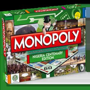 Nigeria Centenary Edition of Monopoly