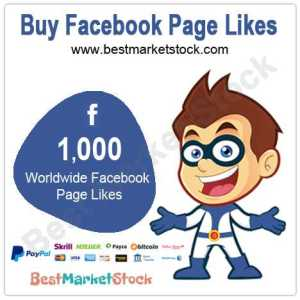 1000 Worldwide Facebook Fan Page Likes